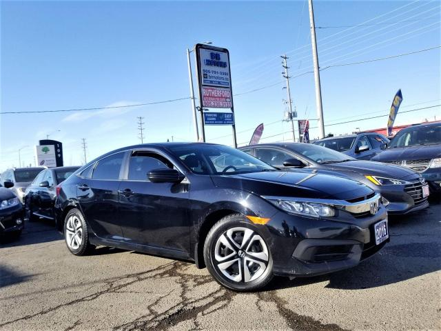 2016 Honda Civic No accidents |1 Ownr |Man LX |off lease|Certified