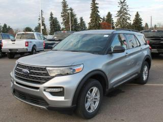 New 2021 Ford Explorer XLT | 4WD | Nav | Leather | Heated Steering | for sale in Edmonton, AB