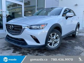 Used 2019 Mazda CX-3 GS - AWD, CLOTH, HEATED SEATS,BACK UP, LOW KMS! GREAT SUV!+ for sale in Edmonton, AB