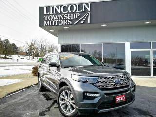 Used 2020 Ford Explorer LIMITED for sale in Beamsville, ON