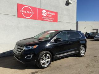 Used 2016 Ford Edge Titanium / AWD / Two Sets Of Tires / Nav / Touch Screen / Loaded for sale in Edmonton, AB