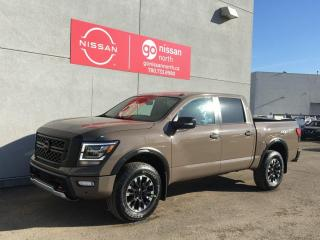New 2021 Nissan Titan EXECUTIVE DRIVEN DEMO SEE DEALER FOR PRICING/ PRO-4X / luxury / Demo See Dealer For More Discounts for sale in Edmonton, AB