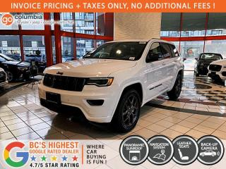 New 2021 Jeep Grand Cherokee 80th Anniversary Edition for sale in Richmond, BC