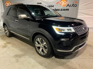 Used 2018 Ford Explorer Platinum for sale in Peace River, AB