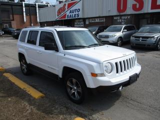 Used 2016 Jeep Patriot High Altitude ~ AWD ~ LEATHER ~ SUNROOF for sale in Toronto, ON