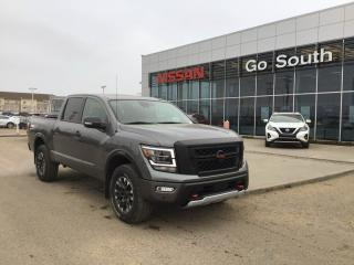 New 2021 Nissan Titan Pro-4X for sale in Edmonton, AB
