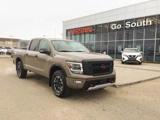 New 2021 Nissan Titan Pro-4X for sale in Edmonton, AB