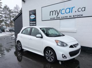 Used 2016 Nissan Micra SR ALLOYS, POWERGROUP, A/C, AWESOME VALUE!! for sale in North Bay, ON