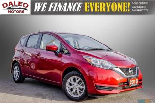 Used 2018 Nissan Versa Note SV / BACK UP CAM / HEATED SEATS / BACK UP CAM / for sale in Hamilton, ON