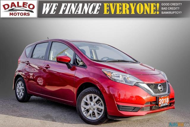 2018 Nissan Versa Note SV / BACK UP CAM / HEATED SEATS / BACK UP CAM /