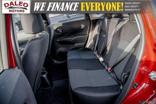 2018 Nissan Versa Note SV / BACK UP CAM / HEATED SEATS / BACK UP CAM / Photo12