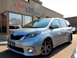 Used 2015 Toyota Sienna SE.8Pass.PowerDoors.Leather.HeatedSeats for sale in Kitchener, ON