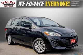 Used 2012 Mazda MAZDA5 GS / 6 PASSENGERS / MP3 CAPABILITY / for sale in Hamilton, ON
