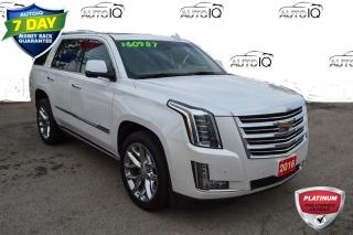 Used 2016 Cadillac Escalade Platinum LOW LOW KMS for sale in Grimsby, ON
