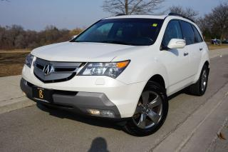 Used 2008 Acura MDX ELITE PACKAGE / NO ACCIDENTS / LOCAL / GLEAMING for sale in Etobicoke, ON