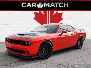 Used 2017 Dodge Challenger SRT HELLCAT / 6-SPD / NO ACCIDETNS for sale in Cambridge, ON