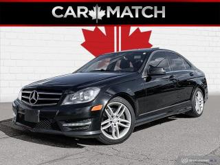 Used 2014 Mercedes-Benz C-Class C 300 / AWD / NAVIGATION / SUNROOF for sale in Cambridge, ON
