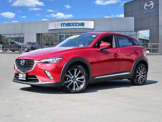 Used 2017 Mazda CX-3 GT - AWD, LEATHER, MOONROOF, BLUETOOTH, BOSE, REAR CAMERA for sale in Hamilton, ON