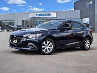 Used 2016 Mazda MAZDA3 GX SEDAN MANUAL - ONLY 52188 KMS!! for sale in Hamilton, ON