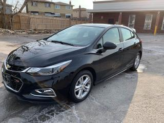 Used 2017 Chevrolet Cruze LT RS 1.4L WITH TURBO. SUNROOF, REVERSE CAMERA for sale in Oshawa, ON