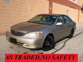 Used 2003 Toyota Camry LE /V6 for sale in Oakville, ON