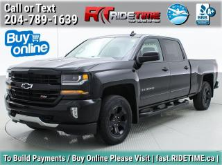 Used 2018 Chevrolet Silverado 1500 LT for sale in Winnipeg, MB