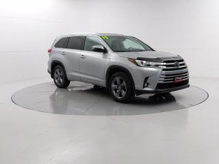 Used 2019 Toyota Highlander LIMITED  for sale in Winnipeg, MB