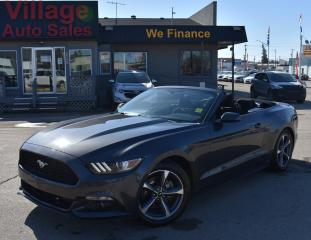 Used 2016 Ford Mustang V6 CRUISE CONTROL! REMOTE START! CONVERTIBLE! for sale in Saskatoon, SK