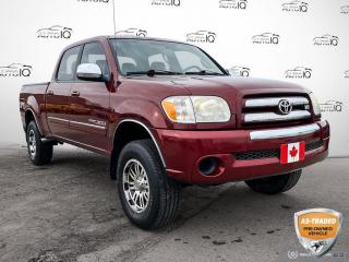 Used 2006 Toyota Tundra V8 AS IS 4X4/Cloth/Alloy Wheels for sale in St Thomas, ON