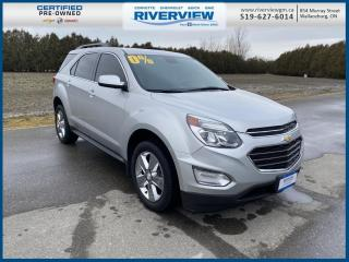 Used 2017 Chevrolet Equinox LT New Tires | True North | Sunroof | Heated Seats for sale in Wallaceburg, ON