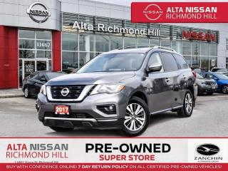 Used 2017 Nissan Pathfinder SL Prem Tech PKG   Navi   Pano   PWR Liftgate for sale in Richmond Hill, ON