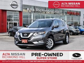 Used 2017 Nissan Rogue SV   Rear CAM   BSW   Remote Strt   Push Strt for sale in Richmond Hill, ON