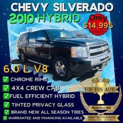 Used 2010 Chevrolet Silverado 1500 PreOwned Certified- EXTREMELY RARE HYBRID X MODEL for sale in Toronto, ON