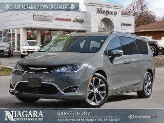 Used 2020 Chrysler Pacifica Limited | 360 Degree Camera for sale in Niagara Falls, ON