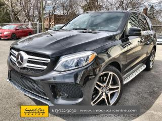 Used 2018 Mercedes-Benz GLE-Class AMG APPEARANCE  PANO ROOF  360 CAM  HK SOUND  DRIV for sale in Ottawa, ON