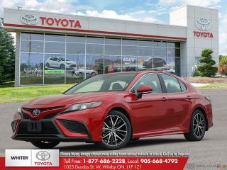 New 2021 Toyota Camry HYBRID SE for sale in Whitby, ON
