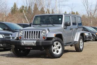 Used 2013 Jeep Wrangler Unlimited Sahara for sale in Mississauga, ON