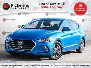 Used 2018 Hyundai Elantra GL - HEATED SEATS/REAR CAM/ALLOYS/BLUETOOTH for sale in Pickering, ON