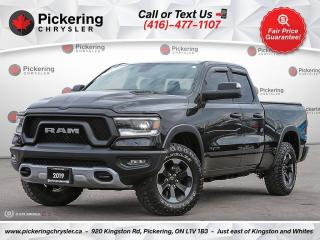 Used 2019 RAM 1500 Rebel - HEATED SEATS/CARPLAY/AIR RIDE/RED INTERIOR for sale in Pickering, ON