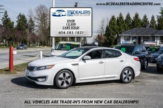 Used 2013 Kia Optima EX Hybrid, Loaded! Pano Roof, Navigation, Backup Cam, Clean! for sale in Surrey, BC