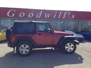 Used 2014 Jeep Wrangler SPORT! SUMMER FUN AUTOMATIC. for sale in Aylmer, ON