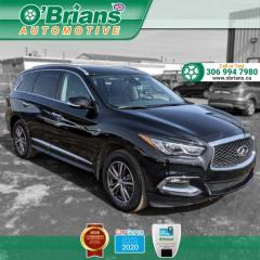 Used 2019 Infiniti QX60 w/Command Start, AWD, Heated Seats, Navigation, Leather, Third-r for sale in Saskatoon, SK