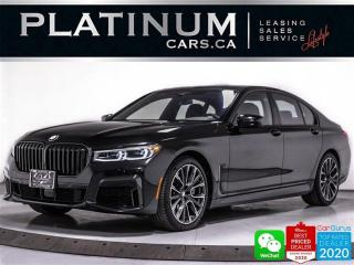 Used 2020 BMW 7 Series 750i xDrive, 523HP, EXEC PKG, MSPORT, DRIVING AST for sale in Toronto, ON