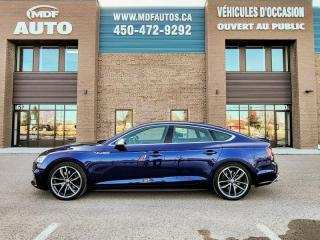 Used 2019 Audi S5 Progressiv 3.0 TFSI quattro for sale in St-Eustache, QC