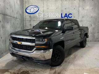 Used 2018 Chevrolet Silverado 1500 CREWCAB 2X4 5.3L CAMERA TOWING GARANTIE for sale in St-Nicolas, QC