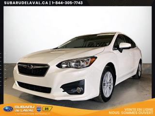 Used 2017 Subaru Impreza Touring 2.0 à Hayon *Caméra de Recul* for sale in Laval, QC
