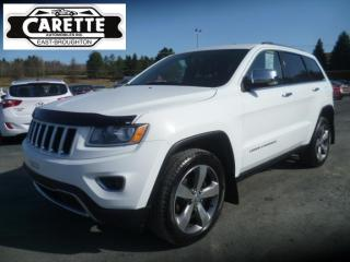 Used 2015 Jeep Grand Cherokee Limited gps-cuir for sale in East broughton, QC