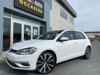 Used 2018 Volkswagen Golf Comfortline 5-door Auto for sale in St-Georges, QC