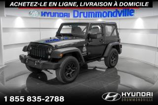 Used 2015 Jeep Wrangler SPORT + GARANTIE + MAGS + CRUISE + WOW!! for sale in Drummondville, QC