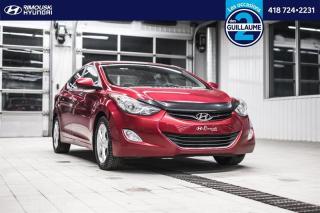 Used 2013 Hyundai Elantra GLS chez Rimouski Hyundai for sale in Rimouski, QC